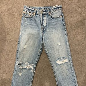 Levi's Wedgie Icon Straight Jeans